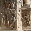 Rome - detail of Constanitne triumph arch — Stock Photo
