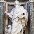 Rome - st. John statue in Lateran basilica — Stock Photo