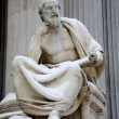 Постер, плакат: Vienna philosopher statue for the Parliament Herodotus