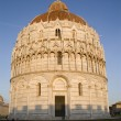 Pisa - baptistery of st. John - Piazza dei Miracoli — Stock Photo #10891928