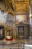 Rome - interior of Lateran basilic of st. John — Stock Photo