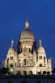 Paris - Sacre coeur in evening — Stock Photo