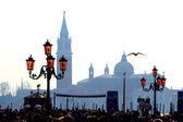Venecia - iglesia de san giorgio di maggiore — Foto de Stock