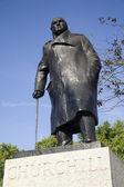 London - Winston Churchill memorial — Stock Photo