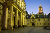 Bratislava - metropolitan palace and town-hall — Stock Photo