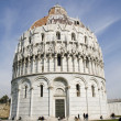 Pisa - baptistery of st. John - Piazza dei Miracoli — Stock Photo #11109703