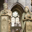 Постер, плакат: Paris paryer of king Louis XVI and Marie Antoinette from Saint Denis gothic cathedral