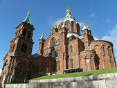 Helsinki - Upensky orthodox cathedral — Stock Photo