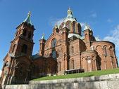 Helsinki - Upensky orthodox cathedral — Stock Photo