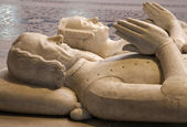 Paris - Tomb from Saint Denis gothic cathedral — Stock Photo