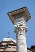 Rome - Forum Romanum - capital of column — Stock Photo