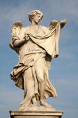 Rome - Ponte Sant'Angelo, Angel with the Sudarium — Foto de Stock