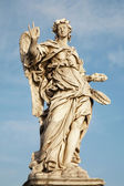 Rome - Angel with the Nails, Ponte sant' angelo — Stock Photo