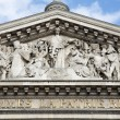 Stock Photo: Paris - tympanum of Pantheon