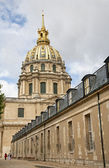 Paříž - les invalides kostel od východu — Stock fotografie