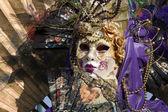 венеция - роскошь маска от карнавал — Стоковое фото