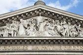 Paris - tympanum of Pantheon — Stock Photo