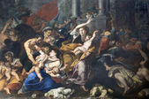 Milan - paint of Massacre of the Innocents from San Eustorgio church — Stock Photo