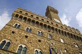 Florence - town-hall Palazzo Vecchio — Stock Photo