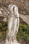 Roma - estatua de atrio vestae - forum romanum — Foto de Stock