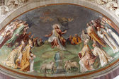 Rome - Jesus the Teacher fresco from church Santa Sabina — Stock Photo