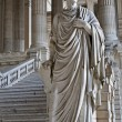 Stock Photo: BRUSSELS - JUNE 22: Cicero statue from vestiubule of Justice palace on June 22. 2012 in Brussels.