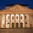 Stock Photo: Brussels - Theatre Royal de lMonnaie in evening.