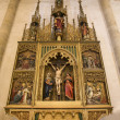 Bratislava - gothic altar from st. Martins cathedral — Stock Photo