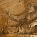 Rome - statue of Nile for Palazzo Senatorio — Stock Photo #12114472