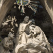 Stock Photo: Barcelon- coronation of holy mary from Gaudi s facade of SagradlFamilia