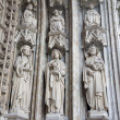 Stock Photo: Pisa - detail from gate of cathedral - Jesus the Teacher