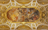 Rome - roof of San Luigi church — Stock Photo