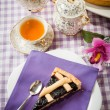 Tart blackberry jam — Stock Photo