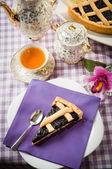 Tart blackberry jam — Stock Photo