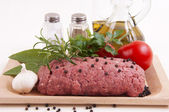 Veal meatloaf — Stock Photo