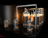 Tube amplifier — Stock fotografie