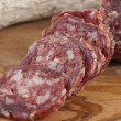 Pure boar salami — Stockfoto