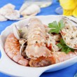 I pirated rice with seafood seafood — Stock Photo #11850849