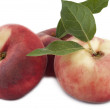 Stock Photo: Peaches snuff-pesche tabacchiera