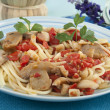 Cuttlefish with tomato sauce — Stock Photo #11951025