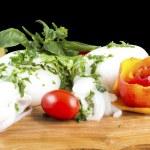 Cuttlefish with tomato sauce — Stock Photo #12288275