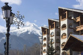 Bansko architecture — Stock Photo