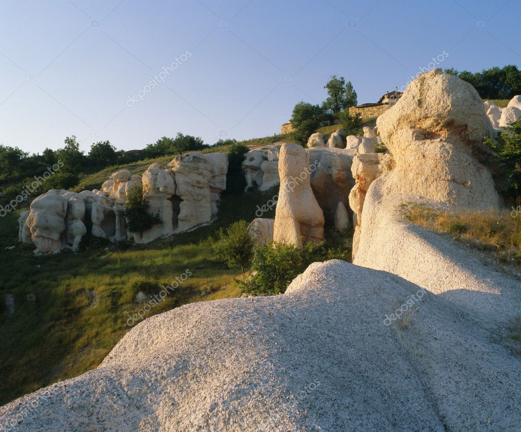 Rocky phenomenon near Kurdjali, Bulgaria, Balkans, South Rhodopi, European, Europe, EU — Stock Photo #11003955