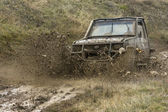 Off road Competition — Stock Photo