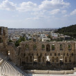 Athens Architectural cityscape — Stock Photo