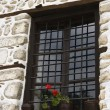 Stock Photo: Window at Architectural reserve Melnik