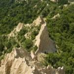 Extraordinary sandstone Pyramid — Stock Photo