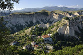 Melnik main view from above — Stock Photo