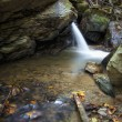 Waterfall on forest river — Stock Photo #11286534