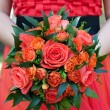 Bride bouquet — Stock Photo #11059534